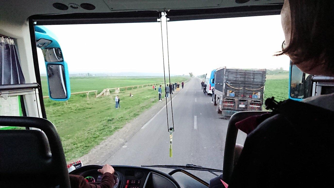 モロッコのシャウエンから移動する道中の様子3