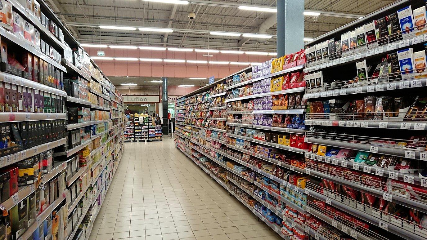 フェズのスーパーマーケットの様子1