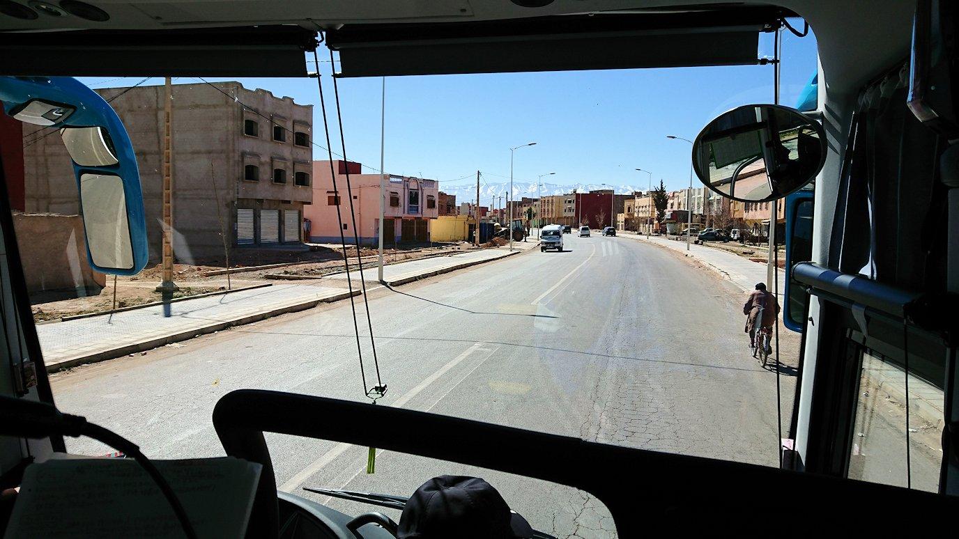 モロッコのミデルトに向かう途中の様子7