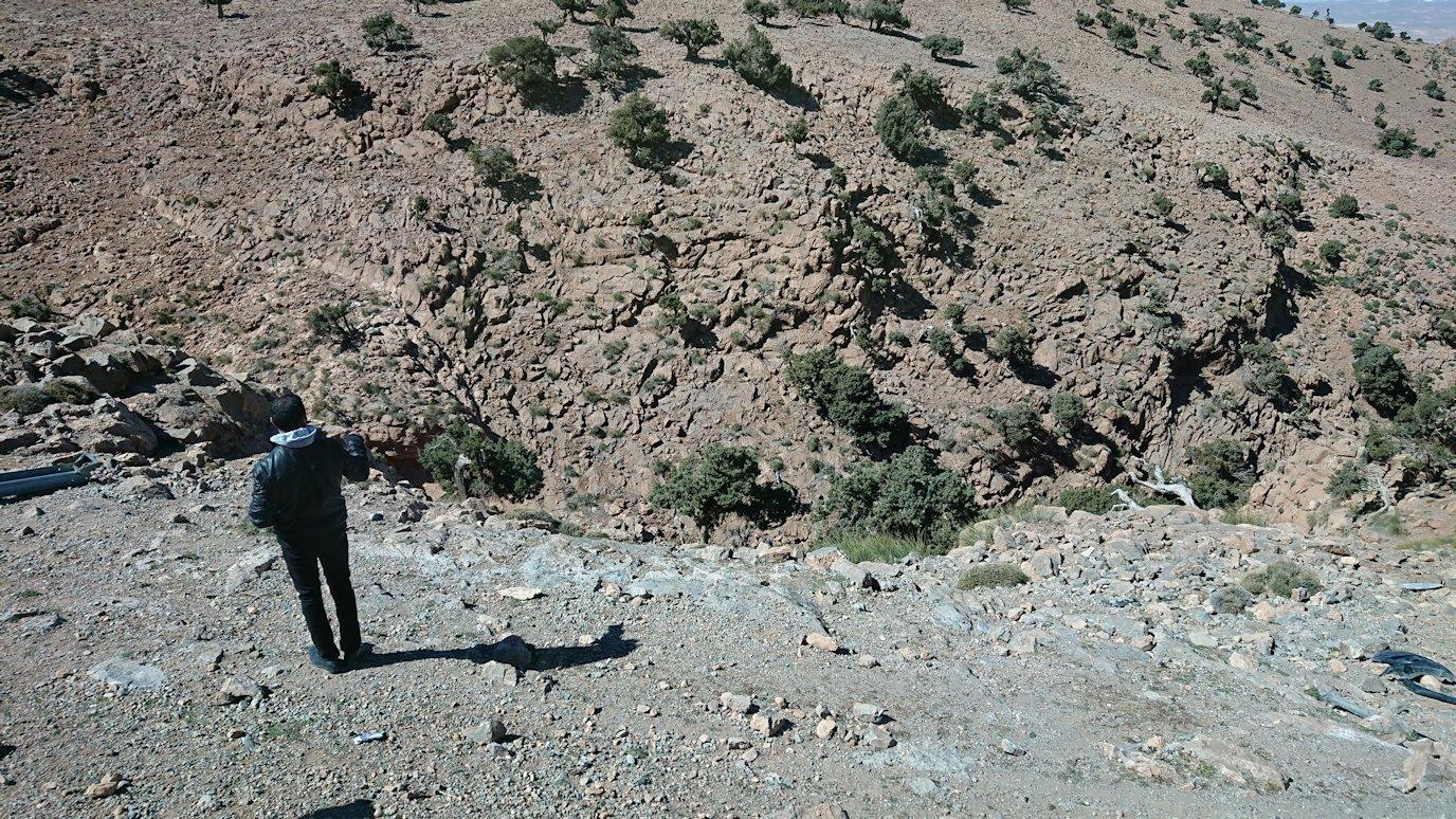モロッコのミデルトからズイズ渓谷に移動する2