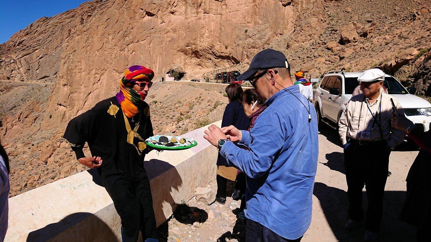 モロッコのミデルトからズイズ渓谷に到着4