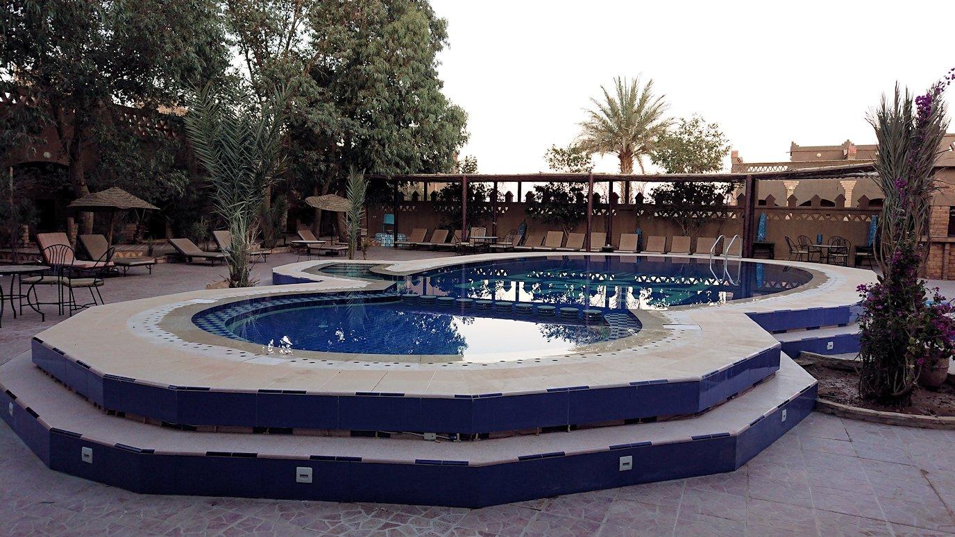 モロッコのメルズーガの砂漠ホテルの部屋の様子9