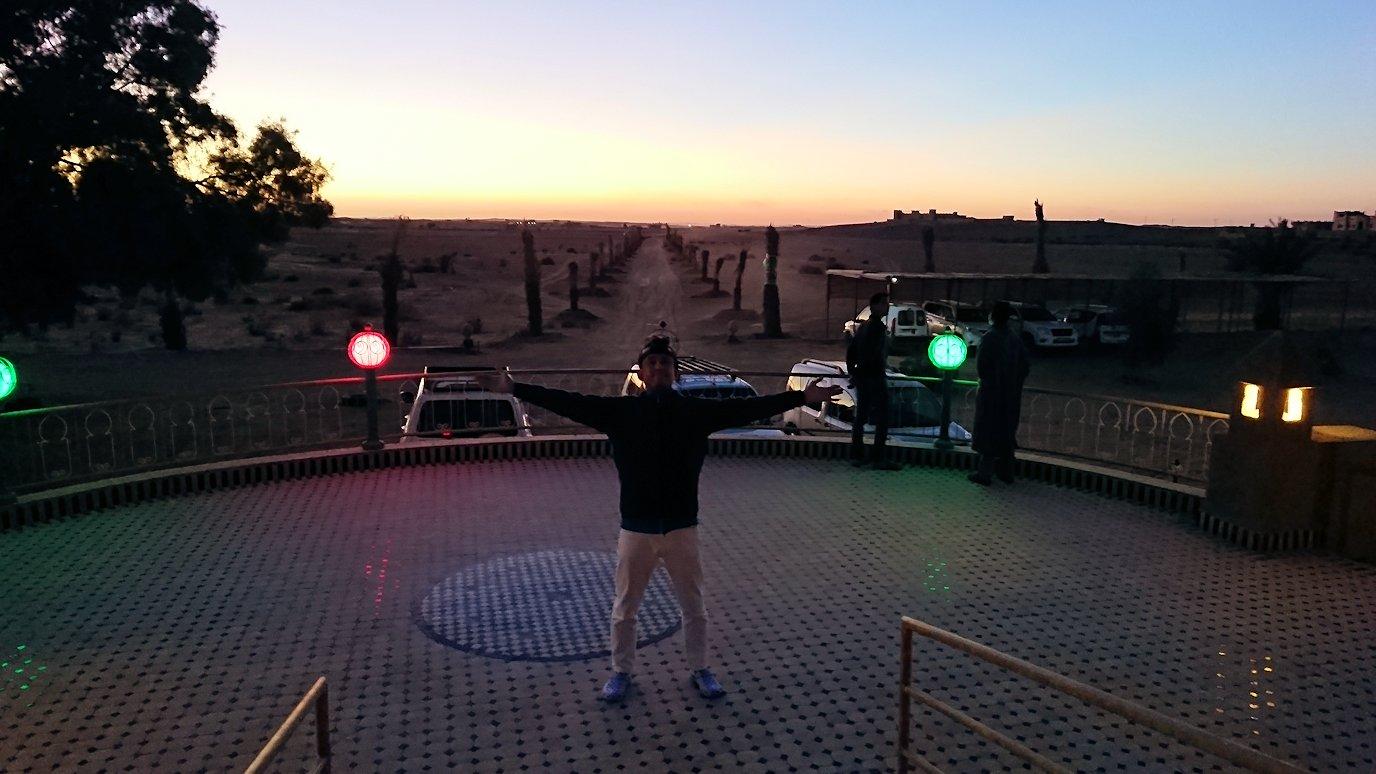 モロッコのメルズーガの砂漠ホテルでまったりと8