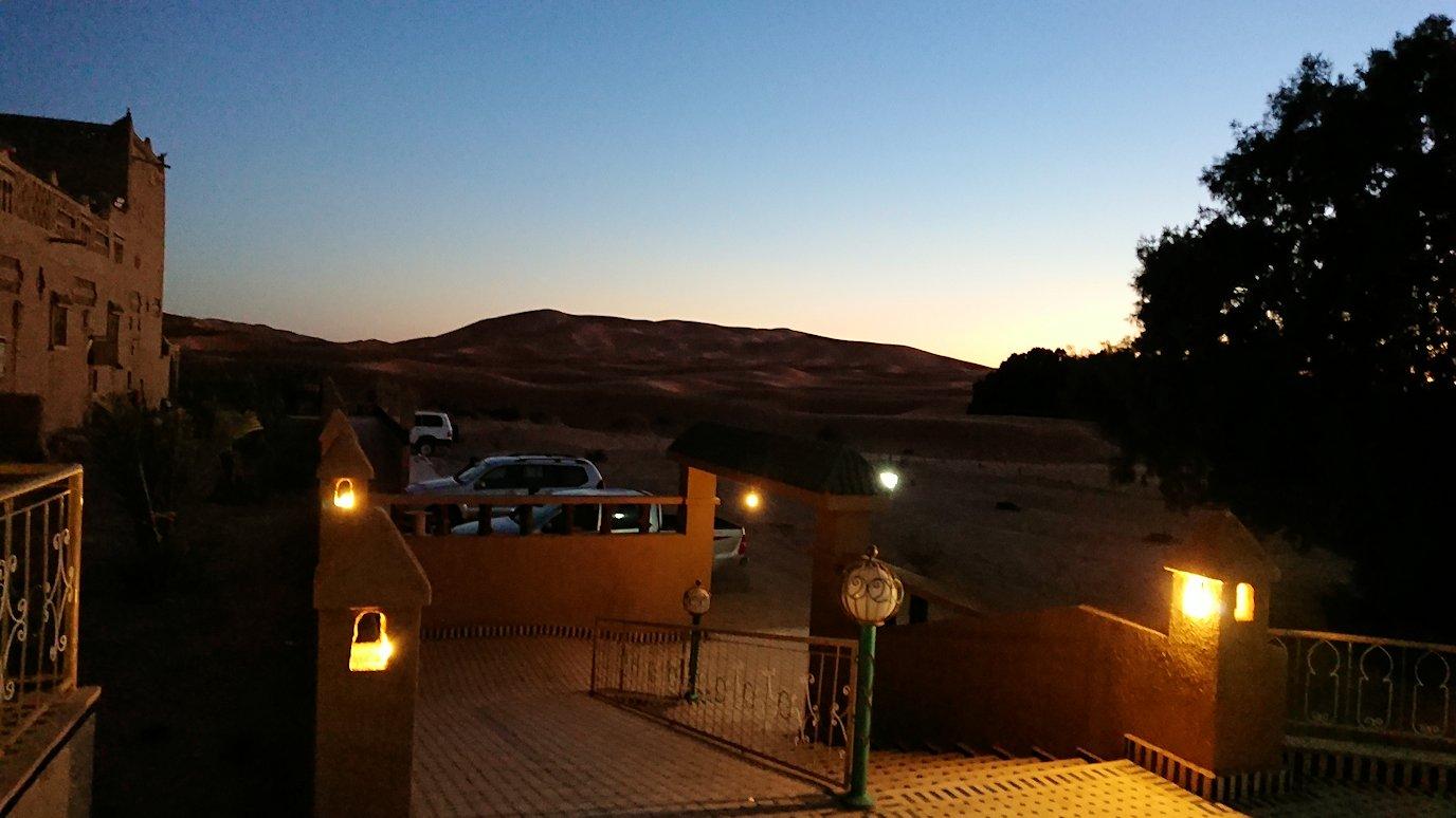 モロッコのメルズーガの砂漠ホテルでまったりと9