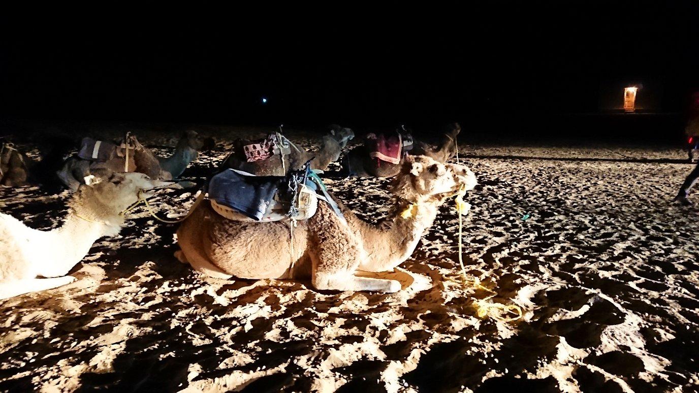 朝のメルズーガのホテルからサハラ砂漠へ向かう6