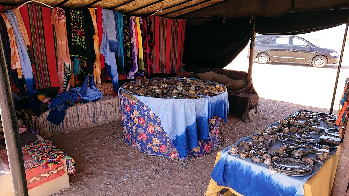 モロッコのカッターラの地下水道溝付近の様子7