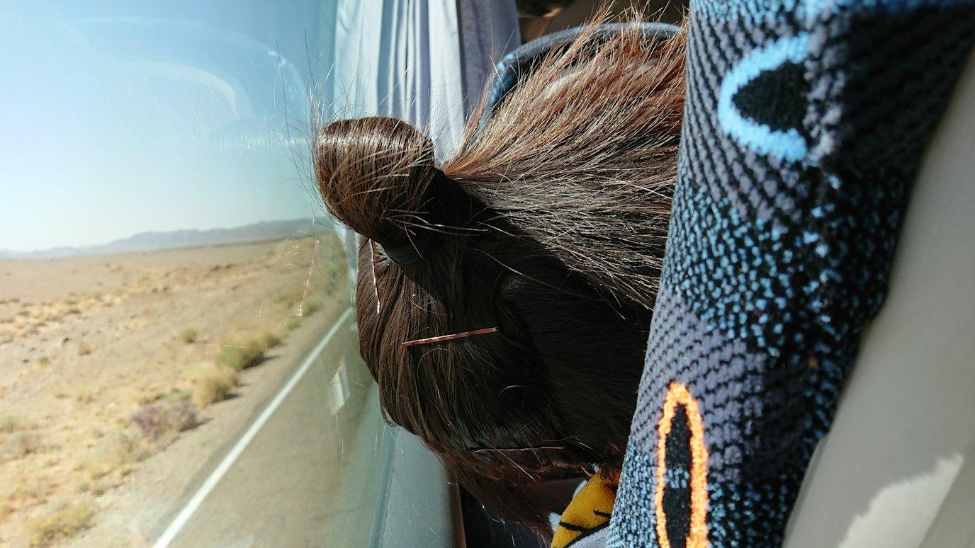 モロッコでカッターラからトドラ渓谷へ向かう途中2