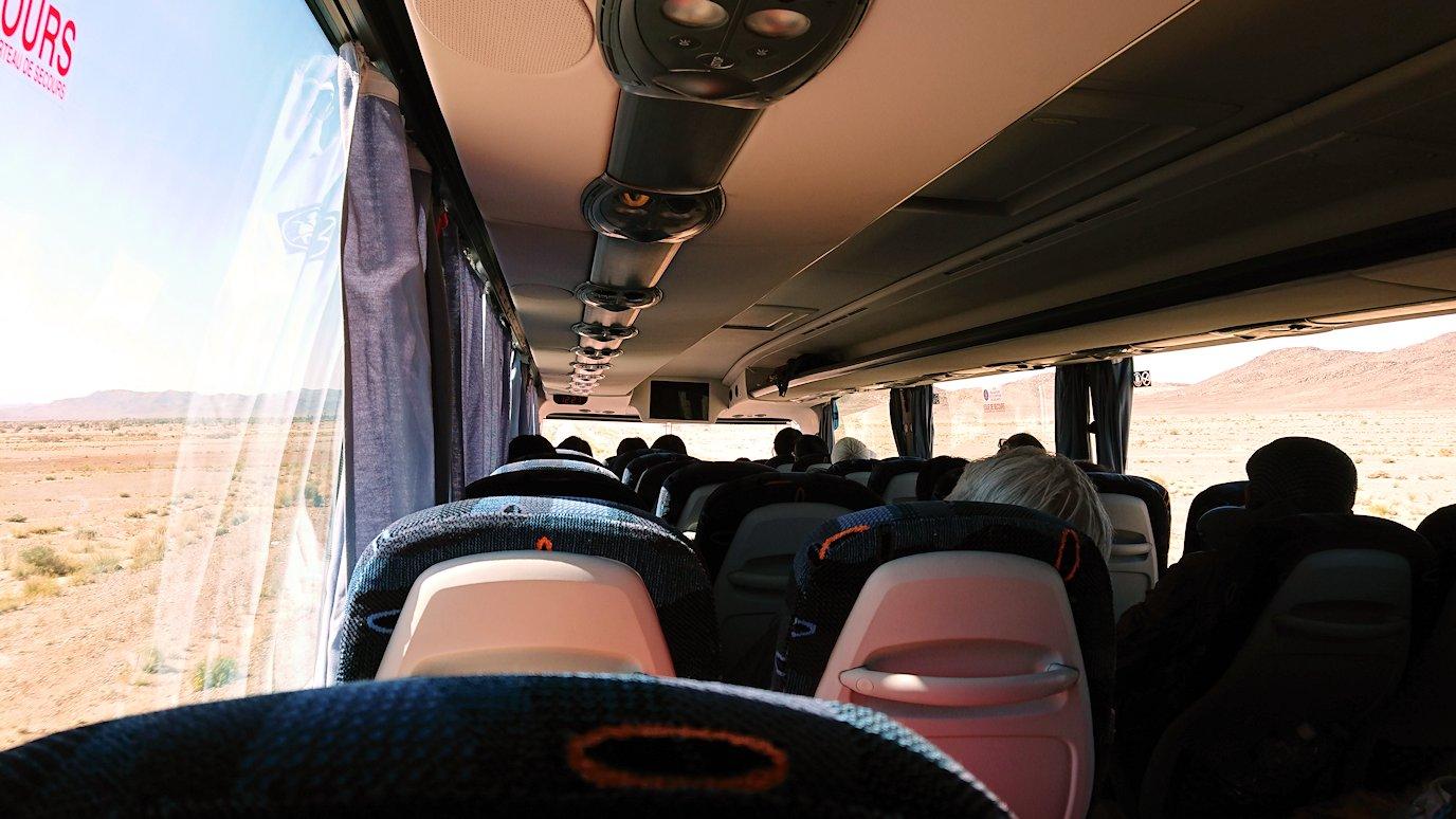 モロッコでカッターラからトドラ渓谷へ向かう途中3