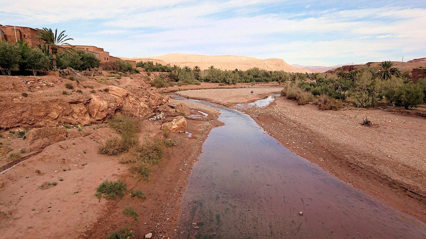 モロッコのワルザザートのアイト・ベン・ハッドゥに入っていきます6