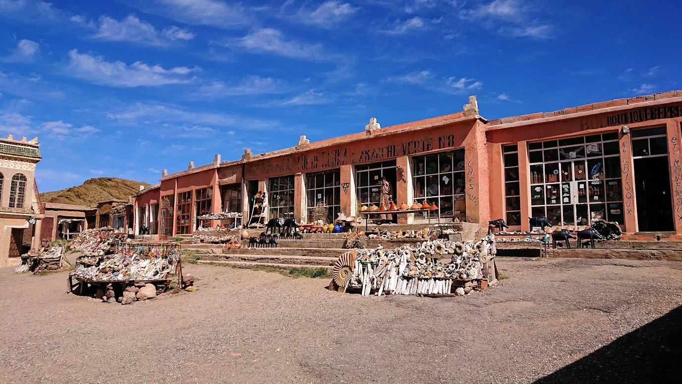 モロッコのティシュカ峠で写真休憩7