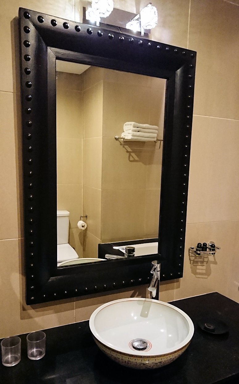 モロッコのマラケシュのホテルにて7