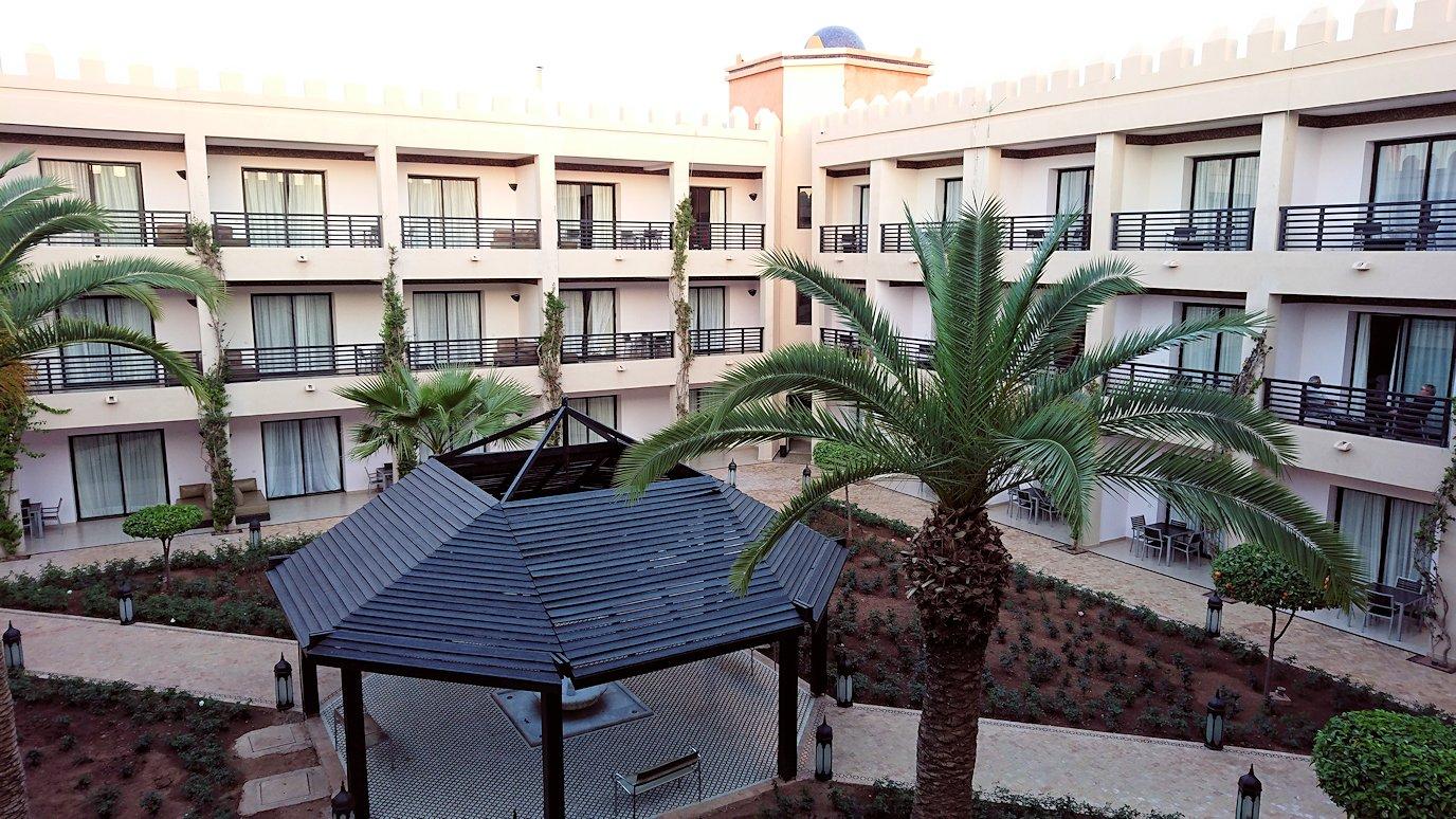 モロッコのマラケシュのホテルの部屋の様子2