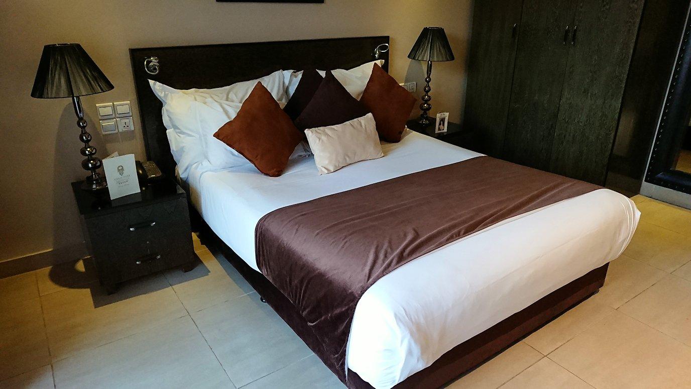 モロッコのマラケシュのホテルの部屋の様子3