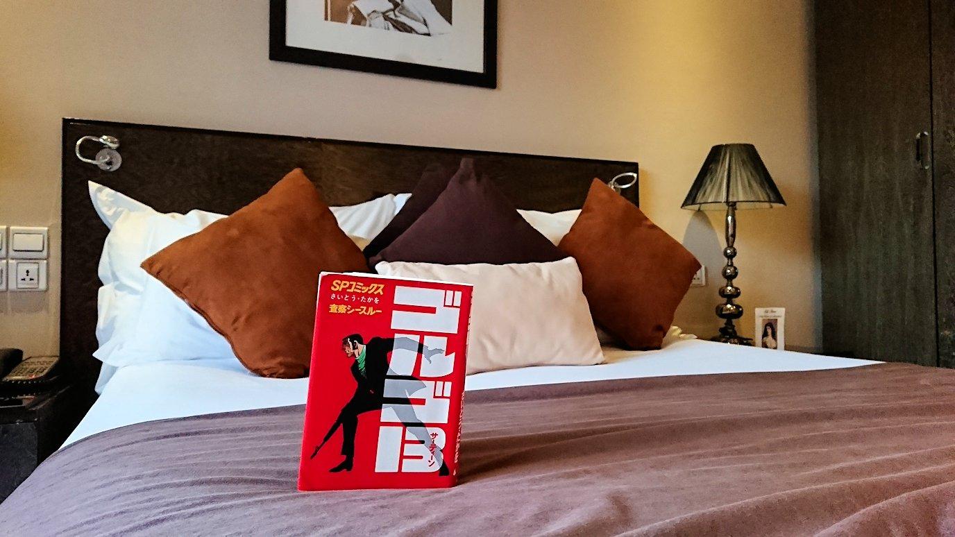 モロッコのマラケシュのホテルの部屋の様子5
