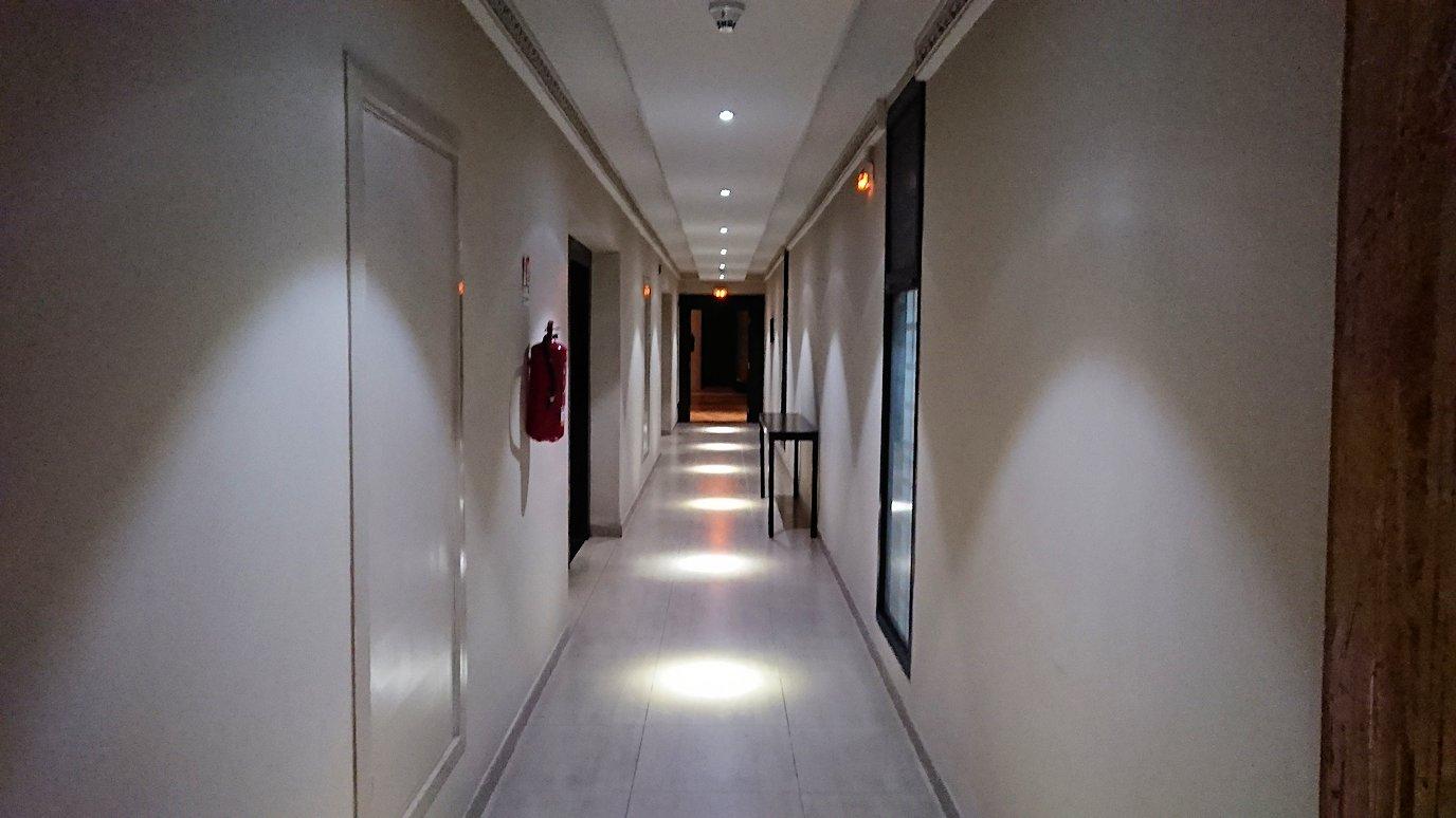 マラケシュのアダムパークホテルにて