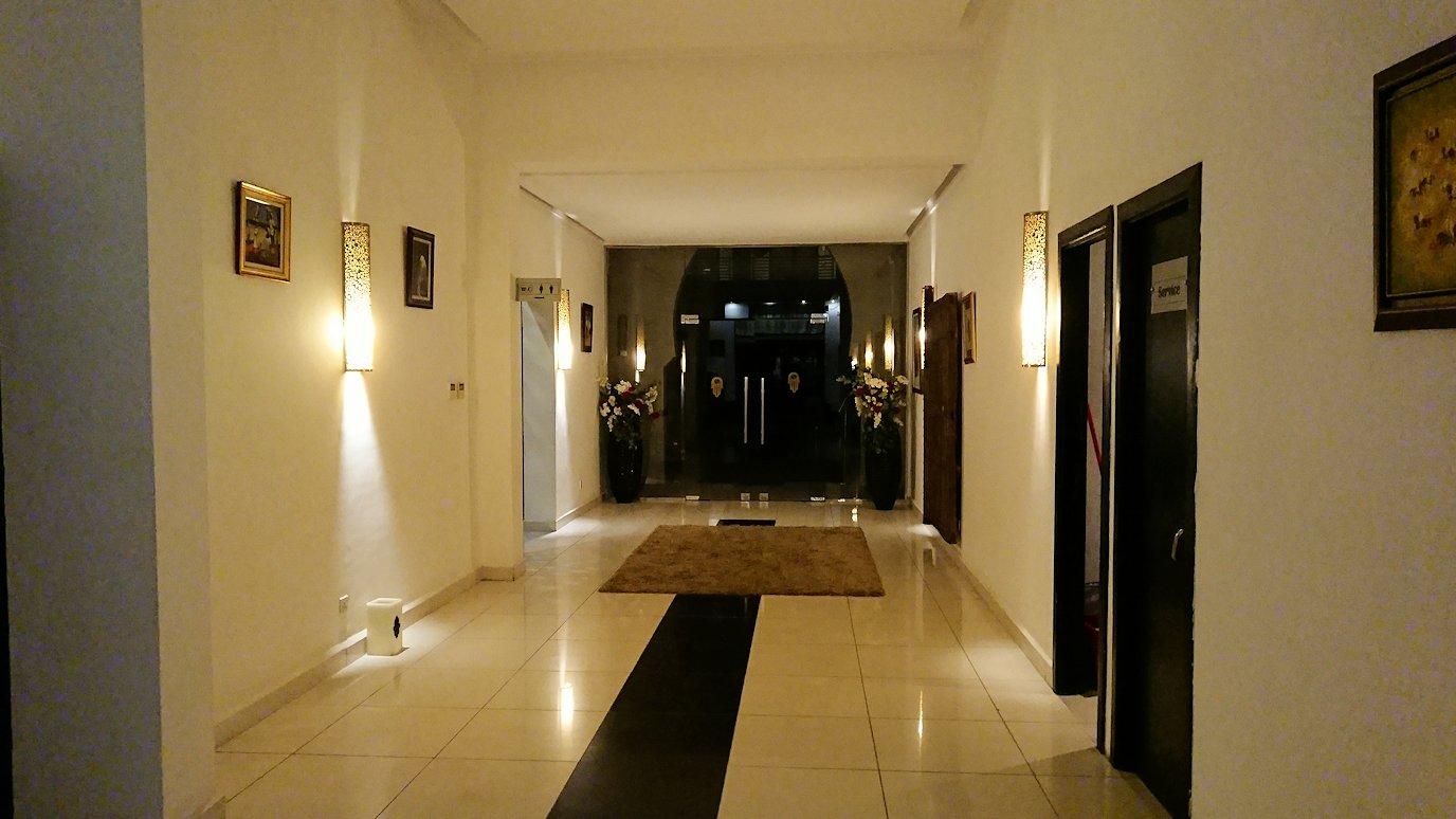 マラケシュのアダムパークホテルにて2