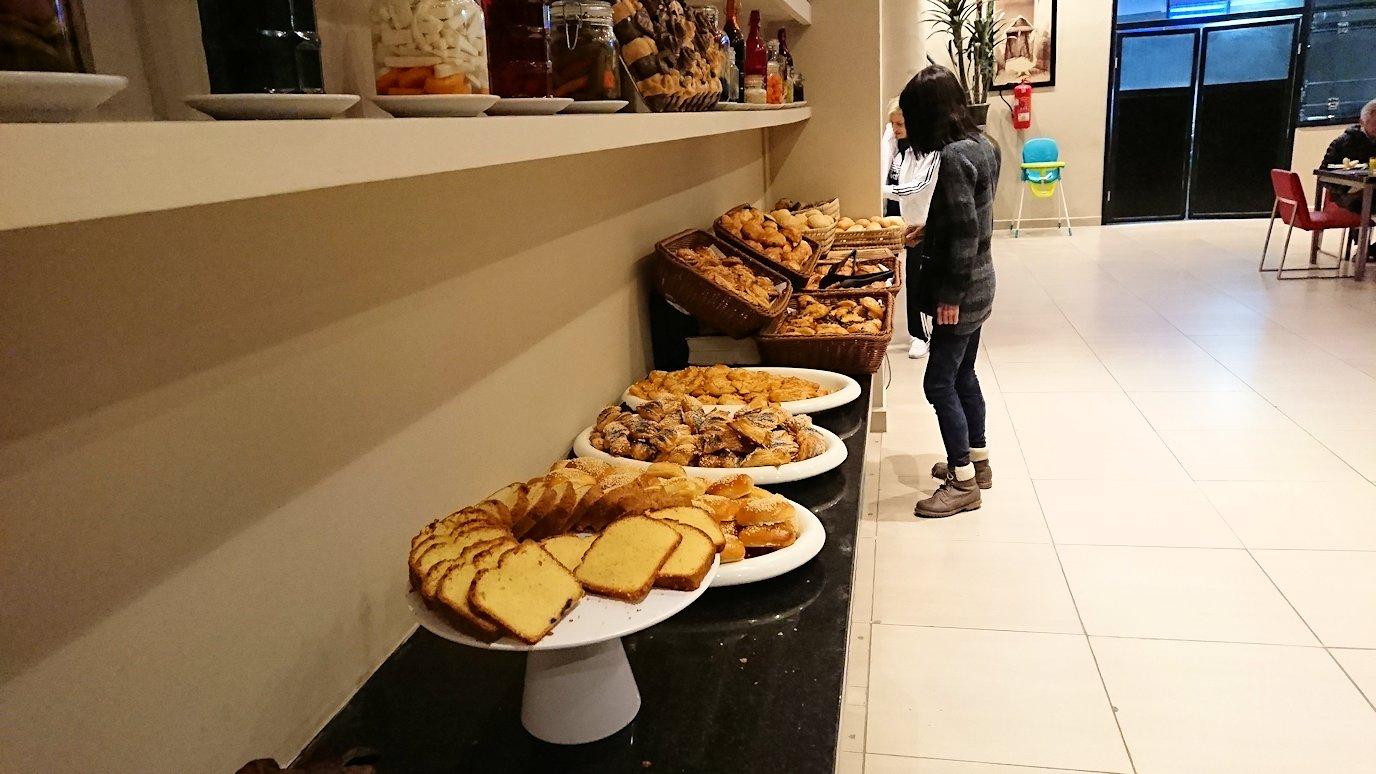 マラケシュのアダムパークホテルにて朝食バイキングを
