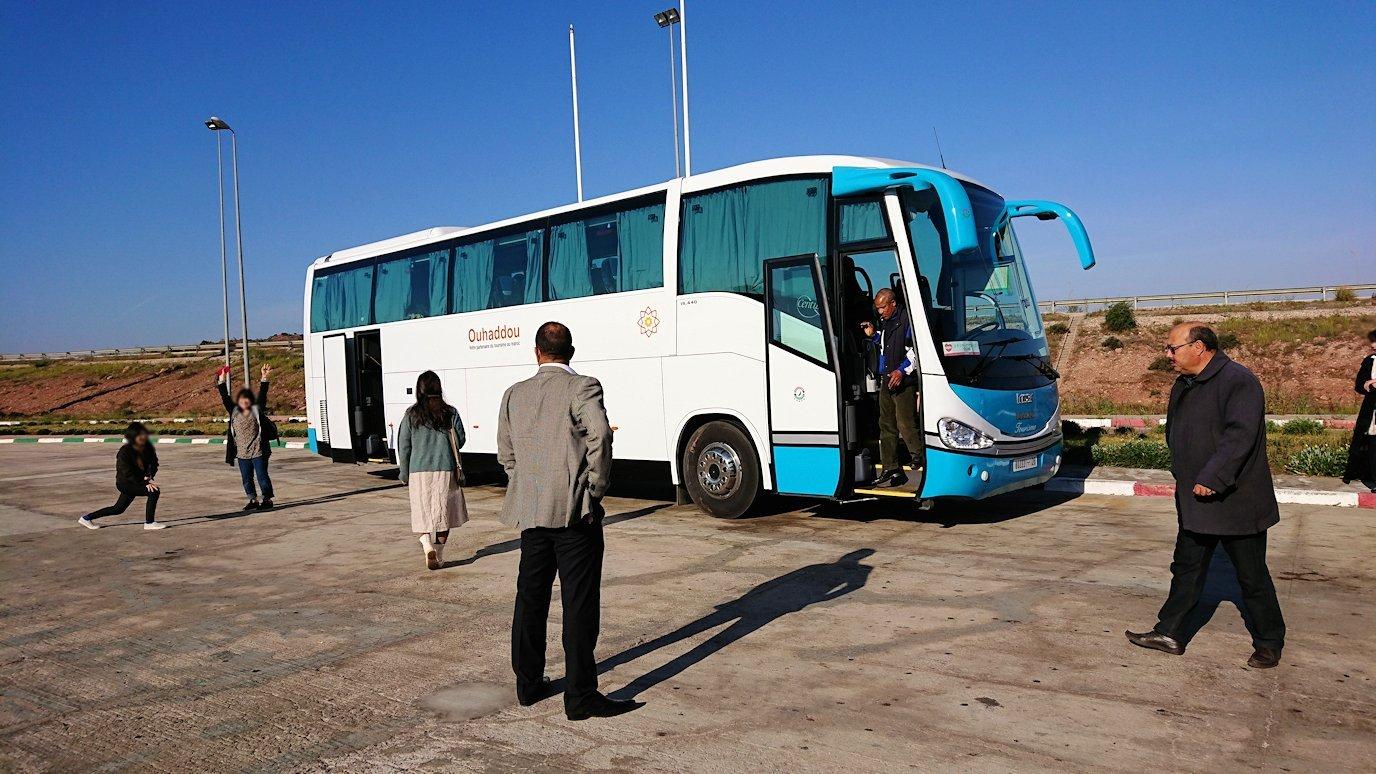 カサブランカ空港に向かい道中のドライブイン8