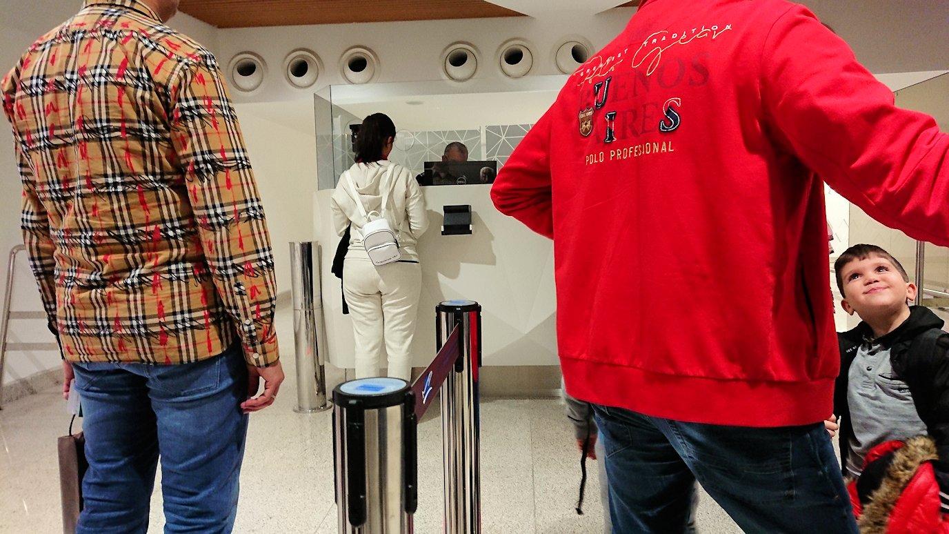 モロッコのカサブランカ空港の国際線ターミナルで散策1