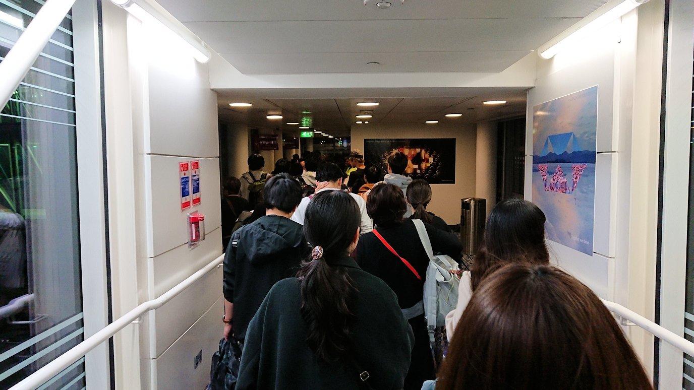 ドバイ国際空港から遂に関西国際空港に向けて出発の時間2
