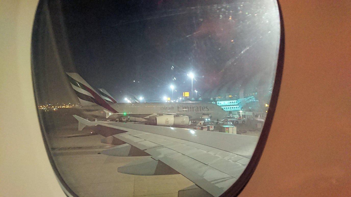 ドバイ国際空港から遂に関西国際空港に向けて出発します