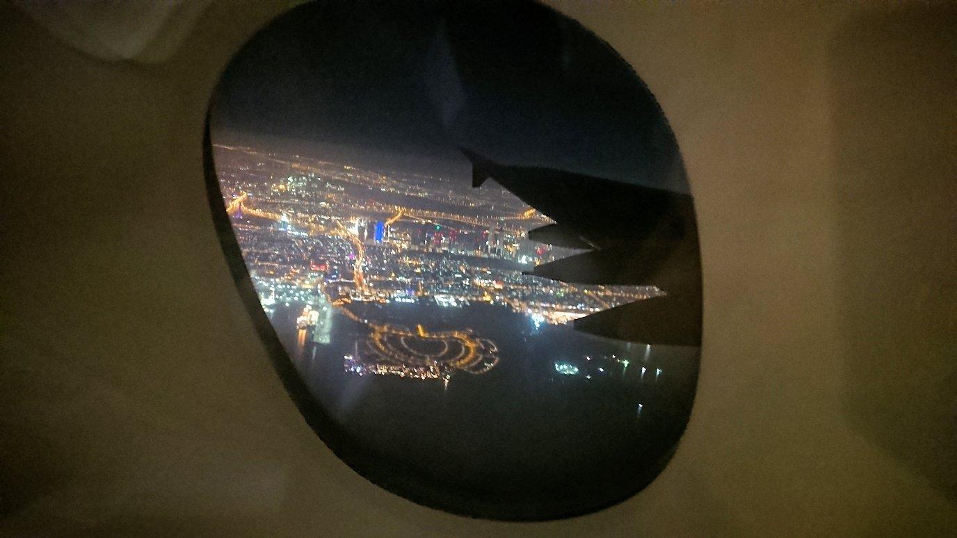 ドバイ国際空港から遂に関西国際空港に向けて出発します4