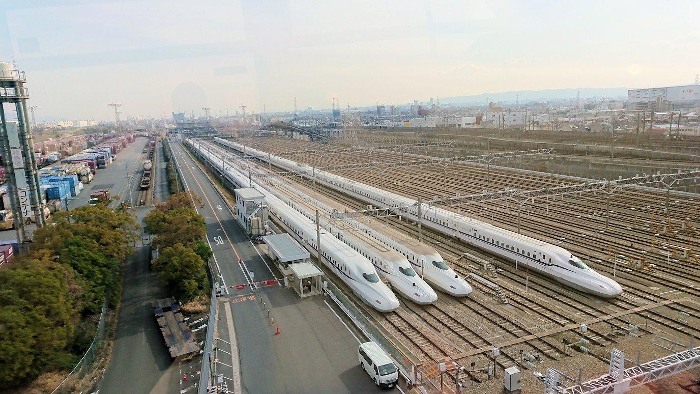 函館空港に向かう途中の様子 伊丹空港にて1