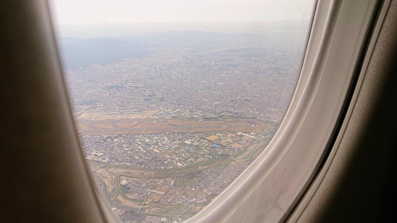 伊丹空港から函館空港へ向けて出発6