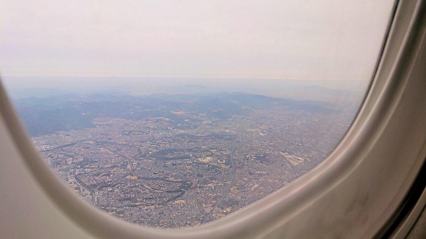 伊丹空港から函館空港へ向けて出発7