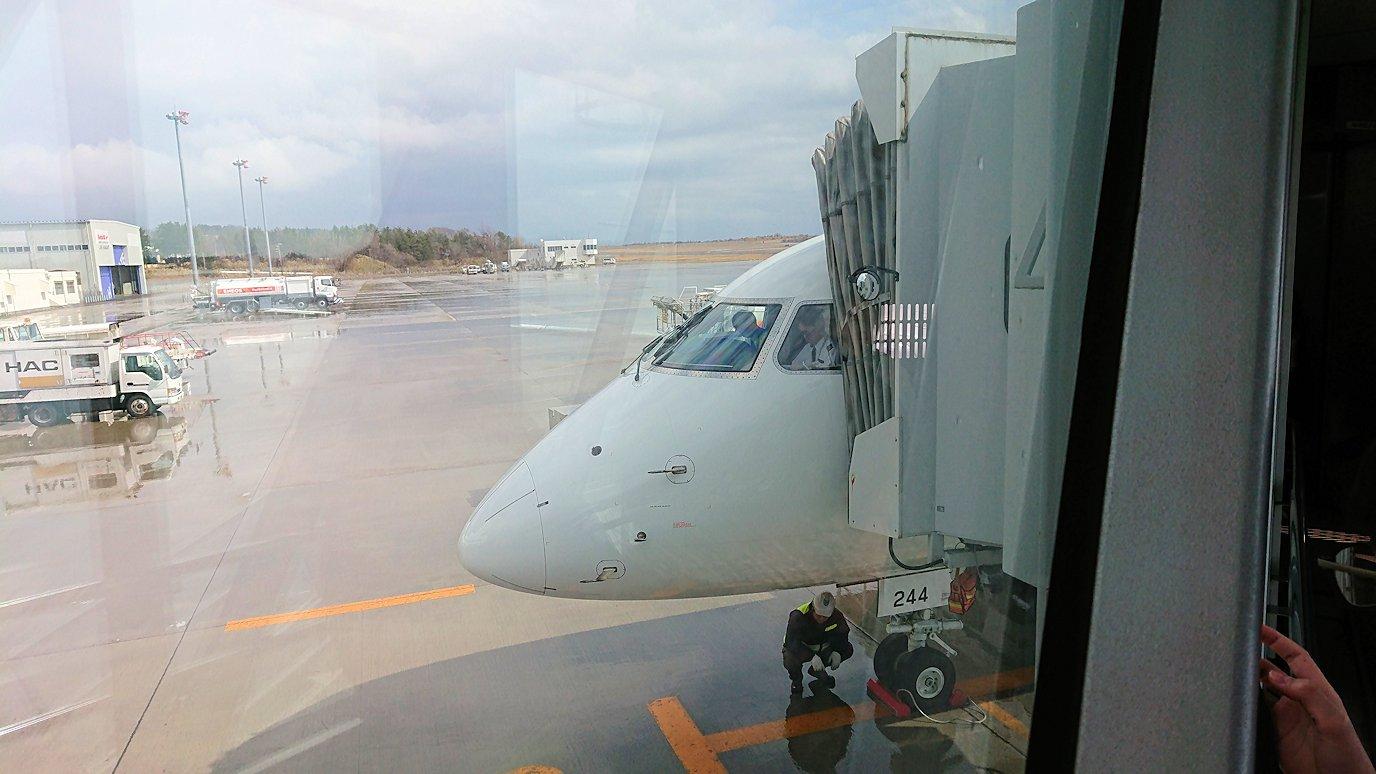 伊丹空港から函館空港へ向けて出発8