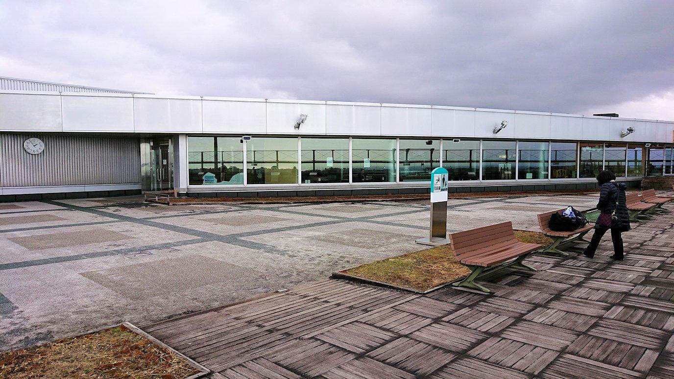 無事函館空港に到着し空港内の展望台を見学3