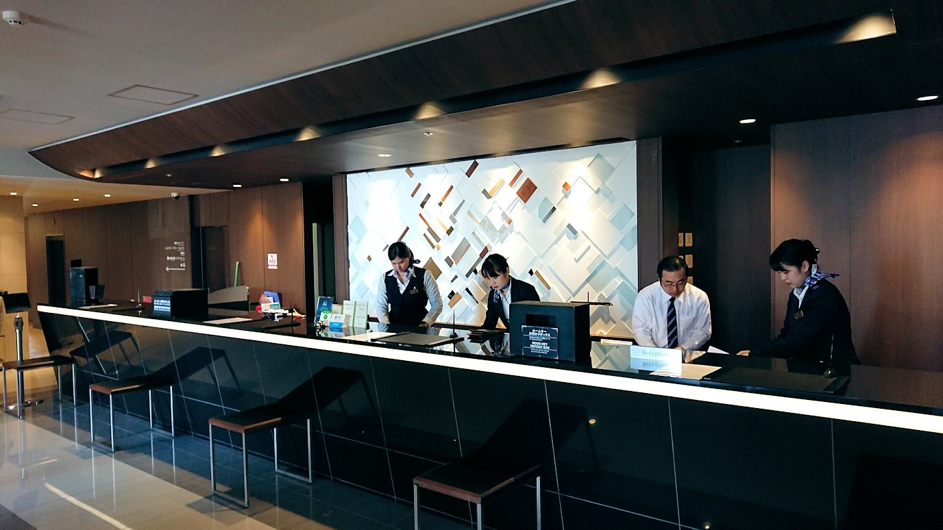 函館空港から市内にある「天然温泉 ホテルパコ函館別亭」に到着しその内装を確認3