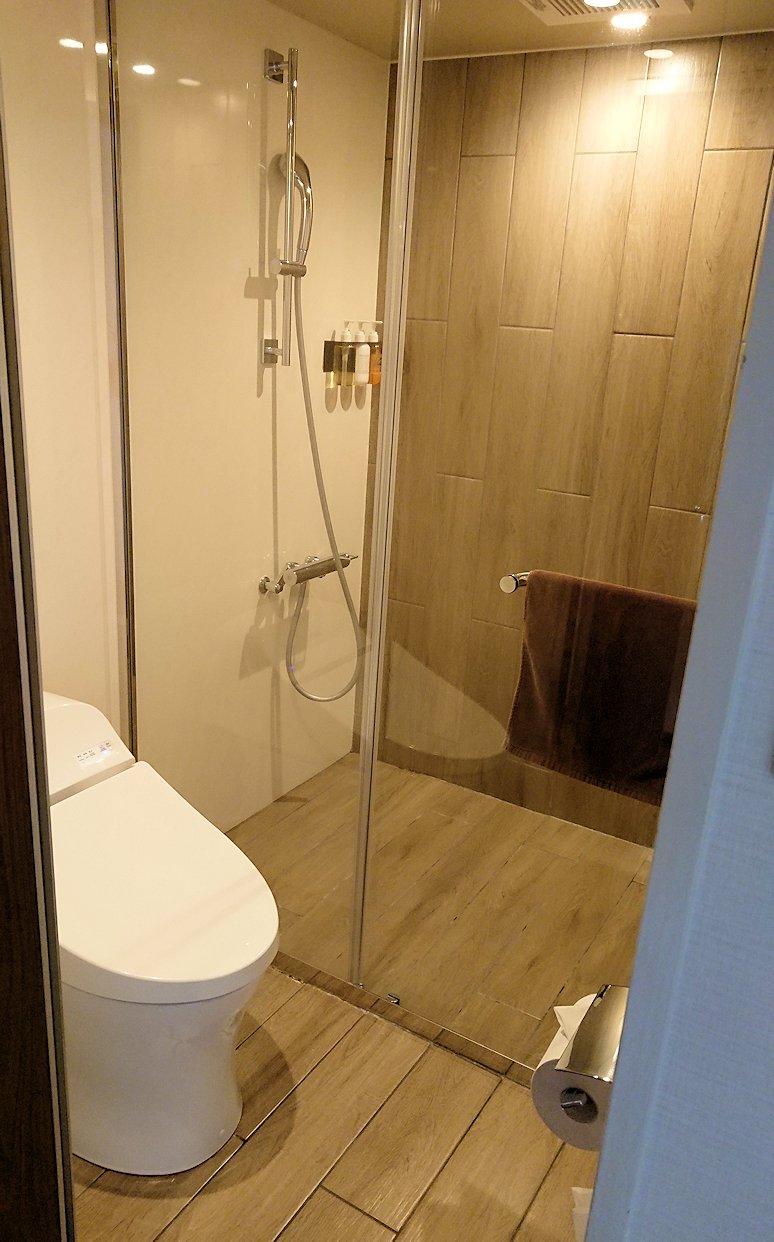 函館空港から市内にある「天然温泉 ホテルパコ函館別亭」に到着しその内装を確認8