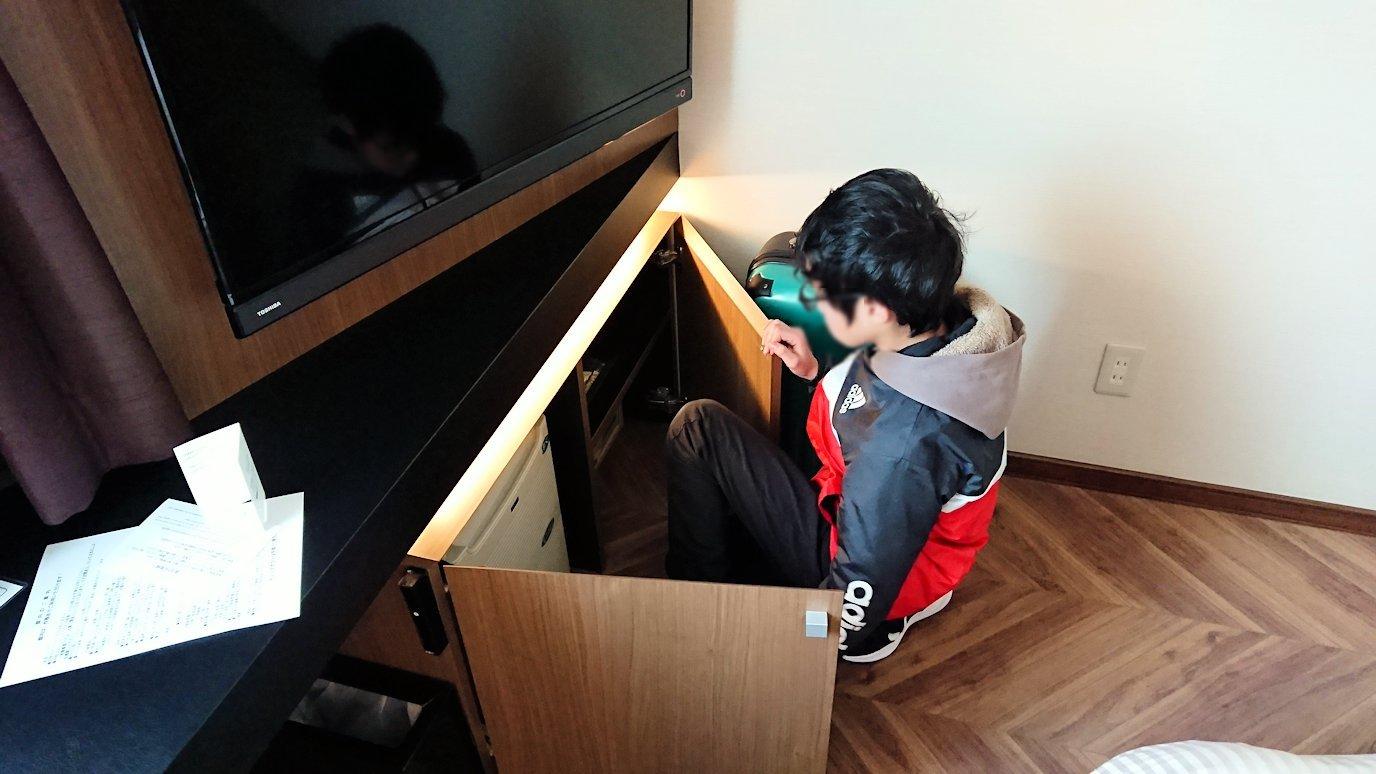 函館空港から市内にある「天然温泉 ホテルパコ函館別亭」に到着しその部屋の様子1