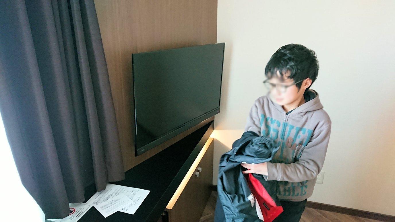 函館空港から市内にある「天然温泉 ホテルパコ函館別亭」に到着しその部屋の様子3