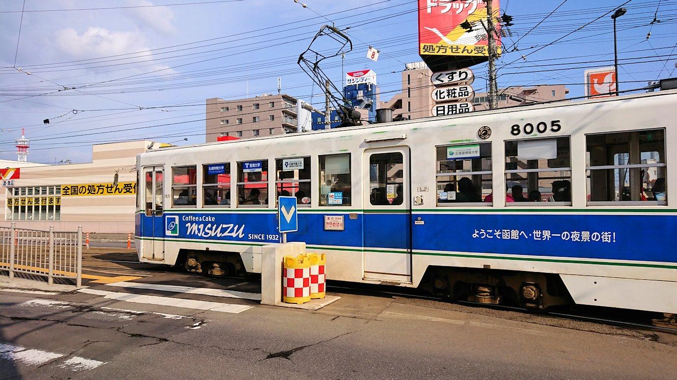 函館空港から市内にある「天然温泉 ホテルパコ函館別亭」に到着しその部屋を確認後、函館市内に出る4