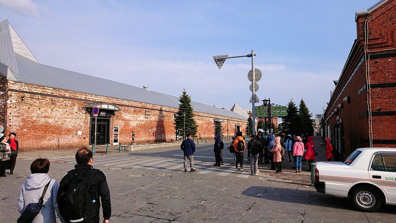 函館空港から市内にある「天然温泉 ホテルパコ函館別亭」に到着しその部屋を確認後、函館市内の赤レンガ倉庫を見て回る8