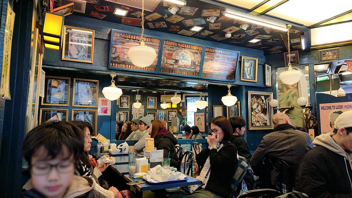 函館2日目の朝は朝食をラッキーピエロにて食べます2