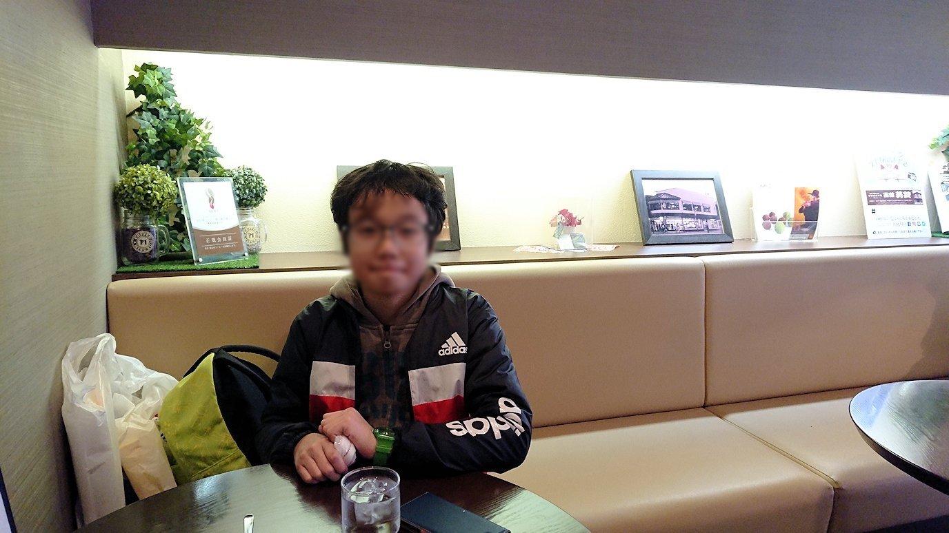 函館市内で五稜郭の見学を終えて美鈴珈琲に向かう3