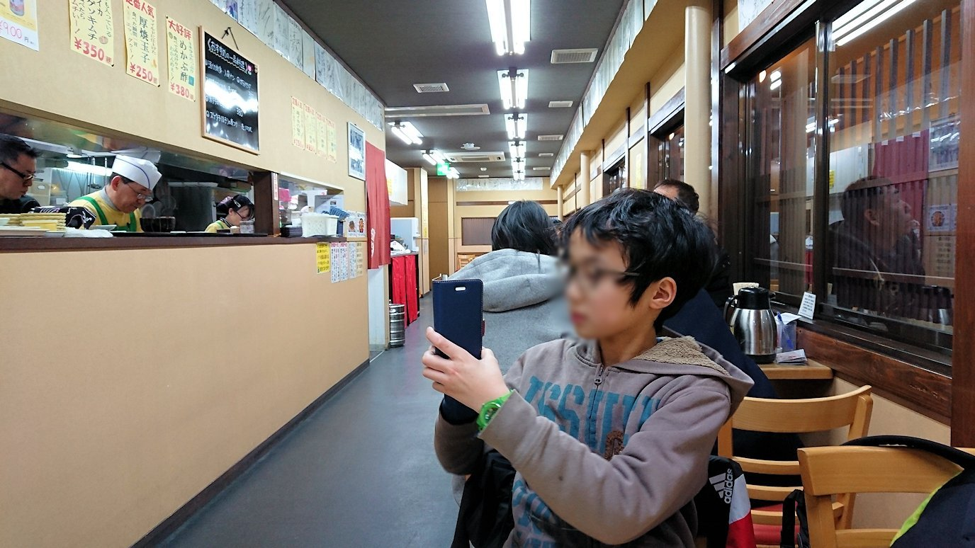 函館最終日、まずは朝市会場で朝食を食べる1
