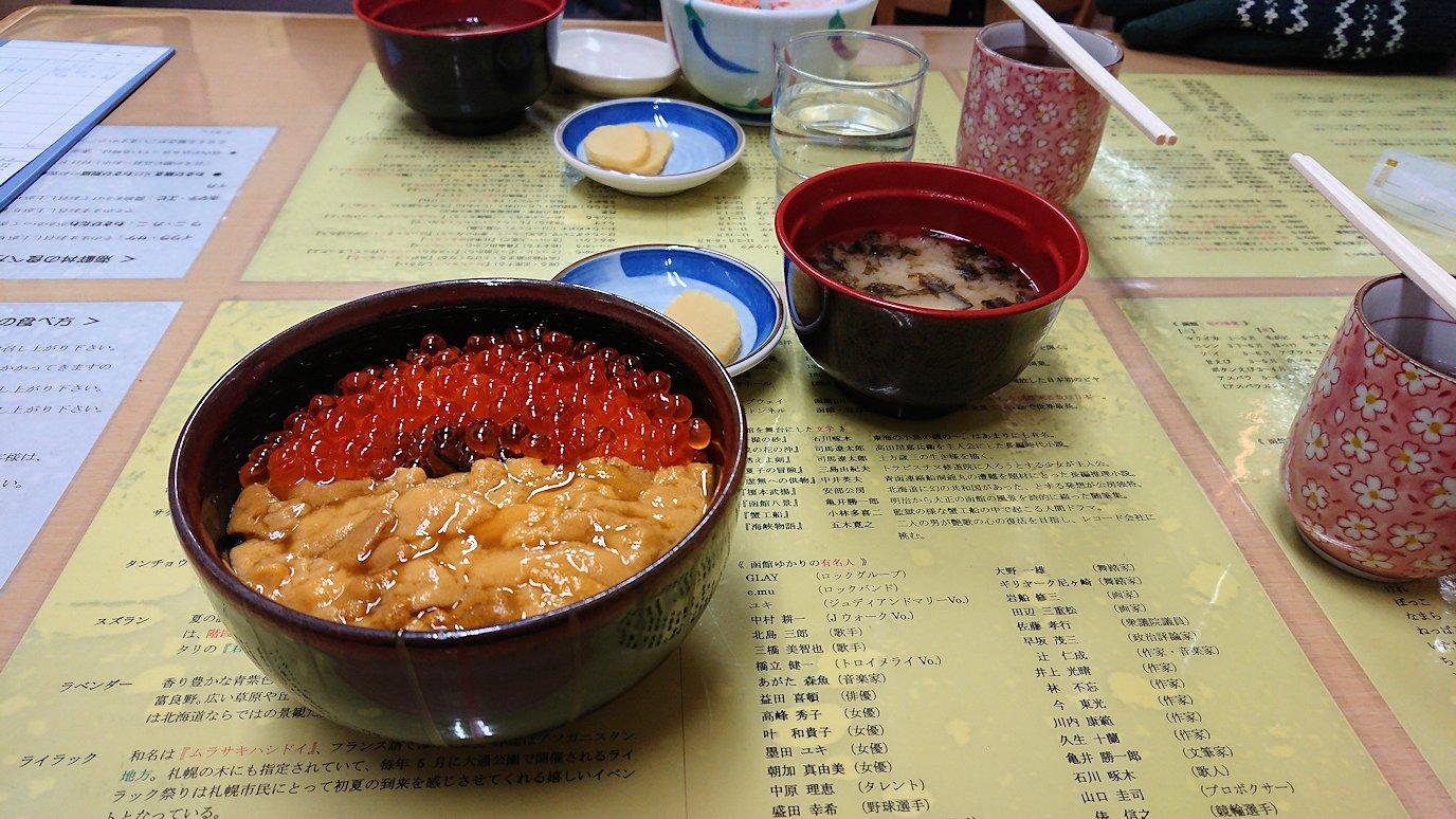 函館最終日、まずは朝市会場で朝食を食べる5