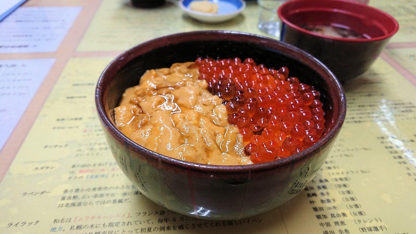 函館最終日、まずは朝市会場で朝食を食べる6