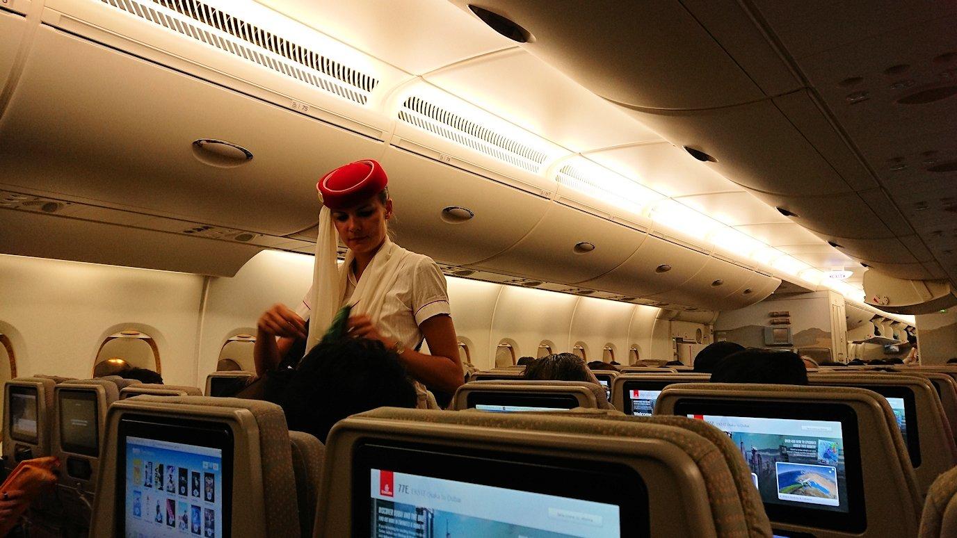 関西国際空港をチュニジアに向けて出発7