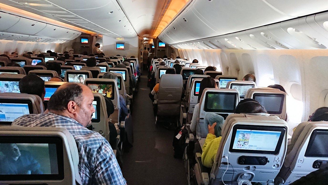 ドバイ国際空港からチュニジア入に向けて出発3