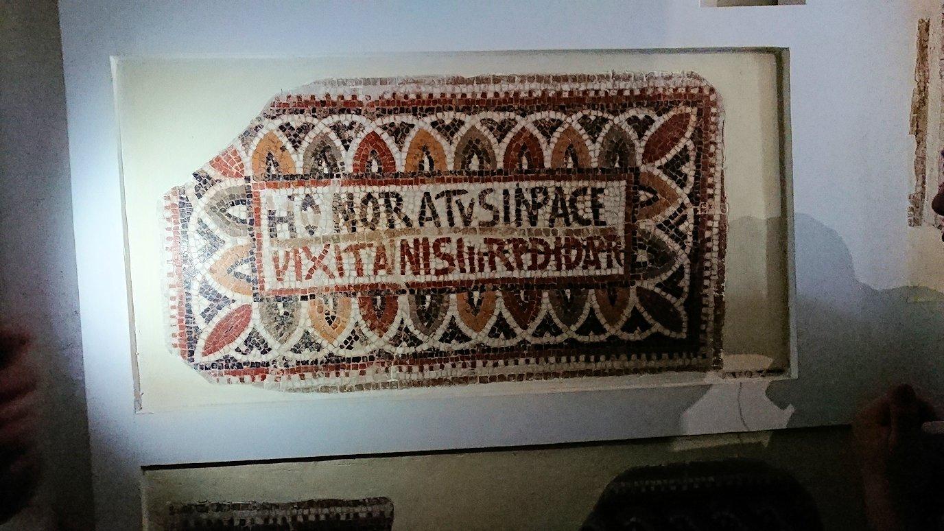 チュニスのバルドー博物館で色んな作品を鑑賞する7