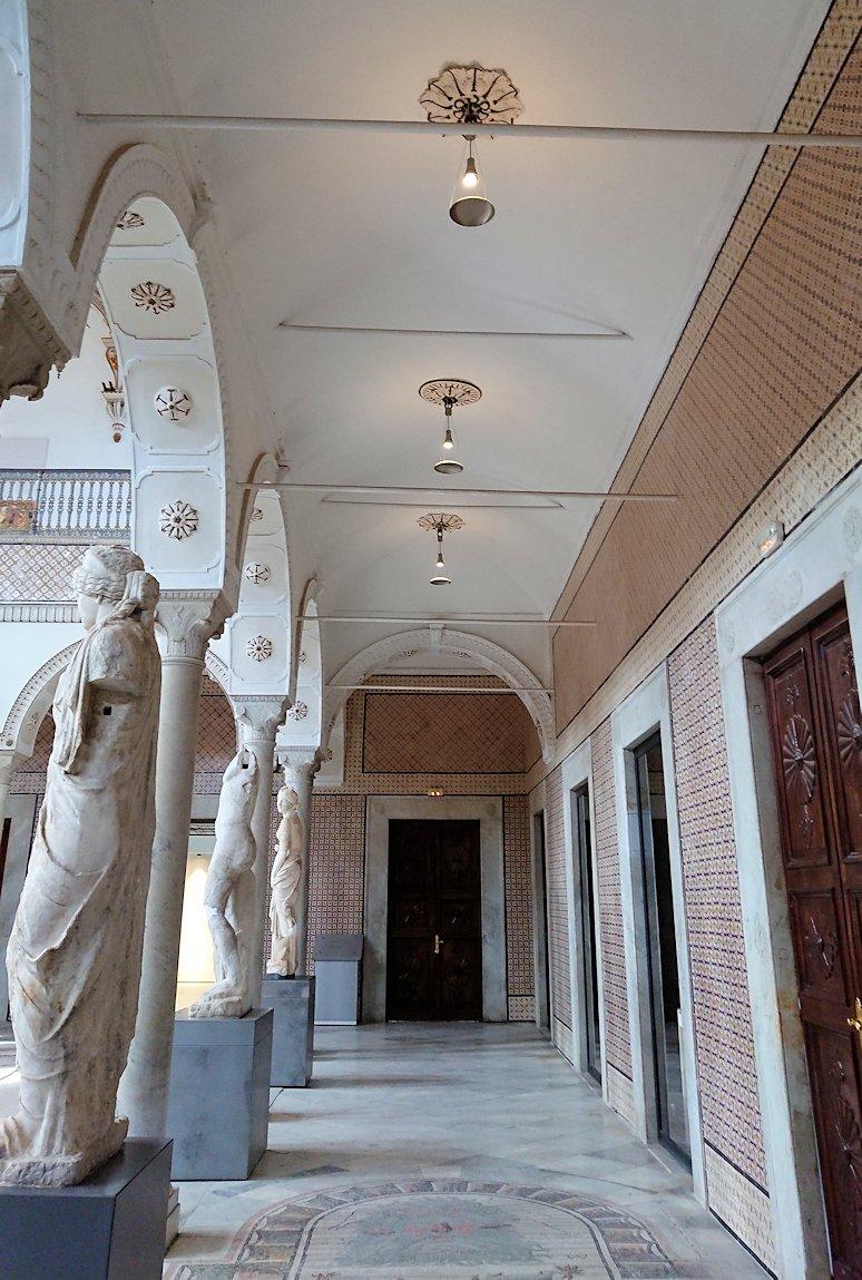 チュニスのバルドー博物館で見学はまだまだ続きます