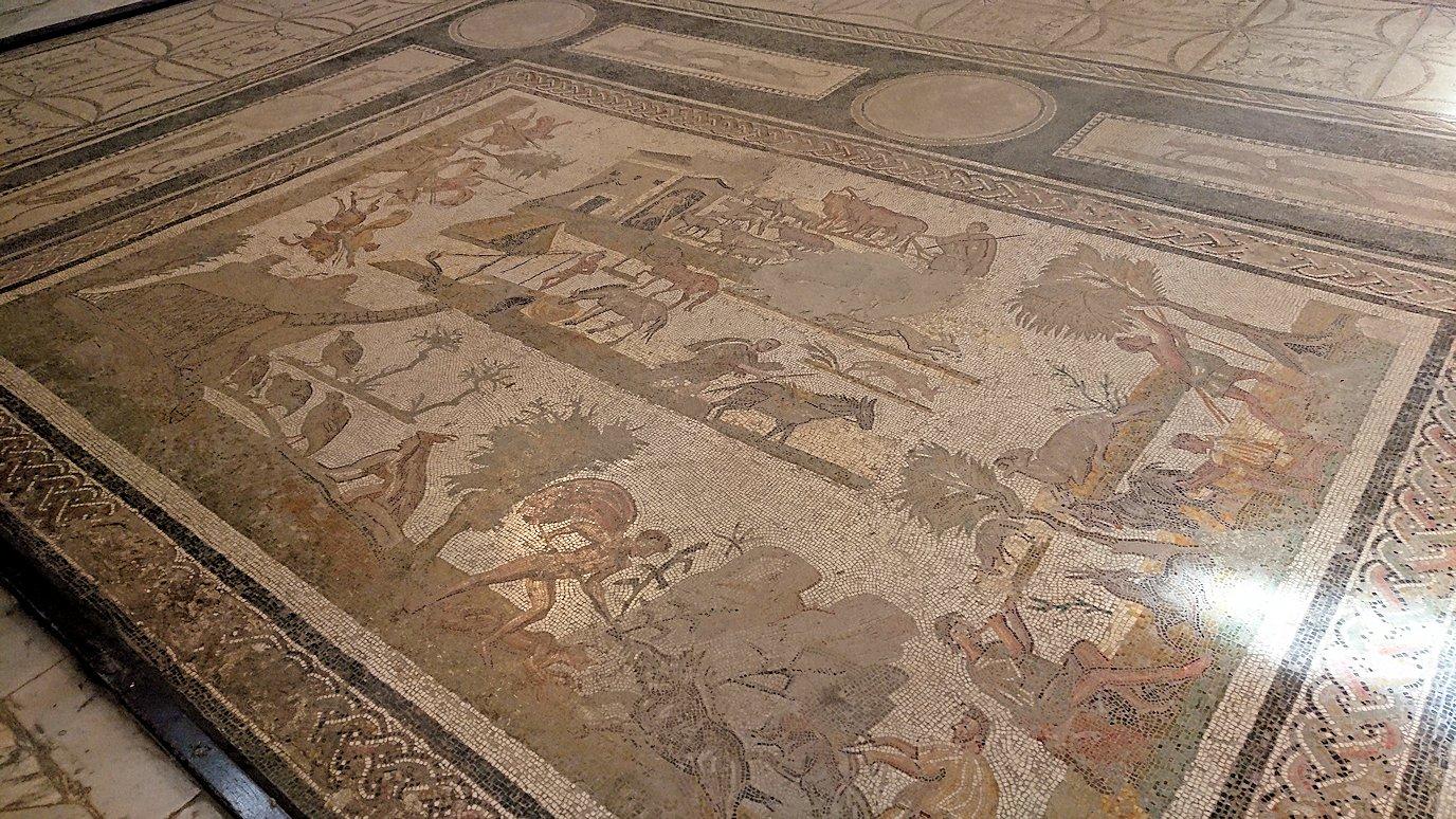 チュニスのバルドー博物館で見学はまだまだ続きます1