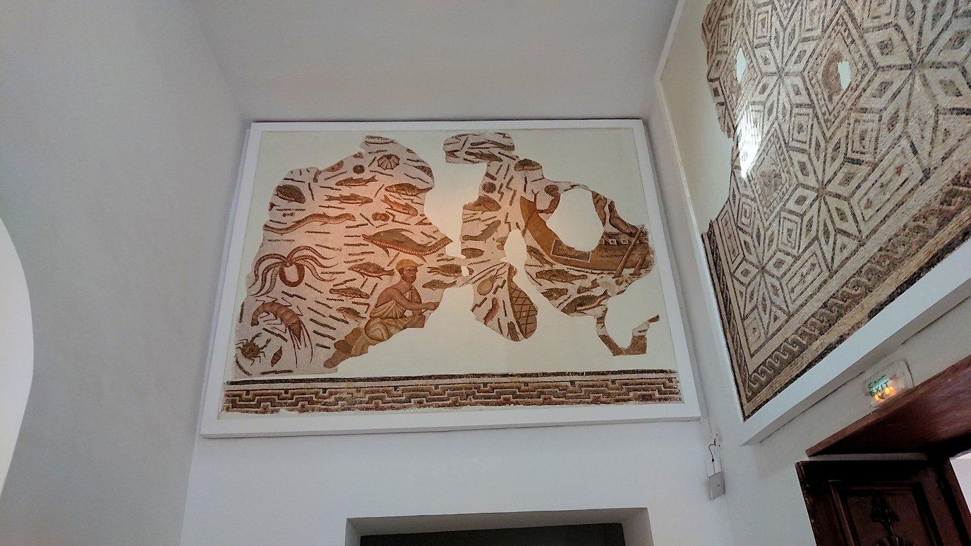 チュニスのバルドー博物館で作品を見て行きます7