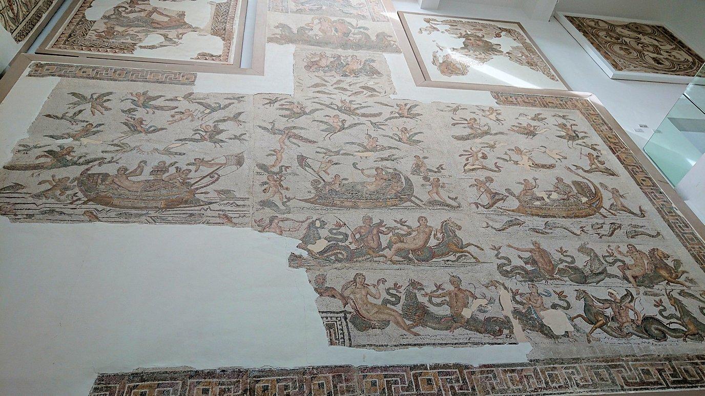 チュニスのバルドー博物館でオデュッセウスの間を見学7