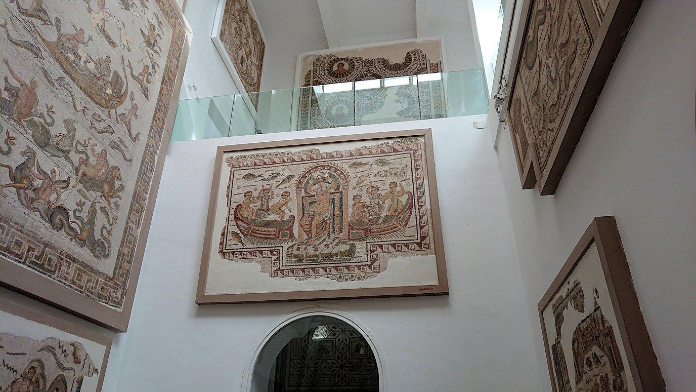 チュニスのバルドー博物館でオデュッセウスの間を見学8